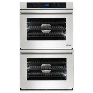 """Dacor Renaissance 30"""" 4.8 cu. ft. Double Electric SS Wall Oven RNO230FS EXCLNT"""