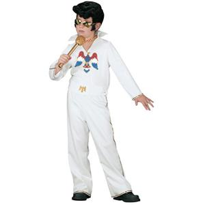 Officially Licensed Elvis Child Costume Jumpsuit Size Small 4-6