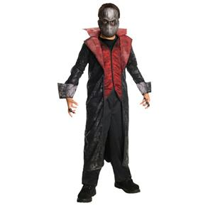 Horrorland Cruel Count Vampire Costume And Mask Medium (Size 8-10)