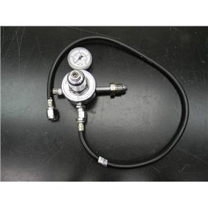 Porter Instrument Co Compressed Gas Tank Regulator N2-7400-1 N2 Nitrogen