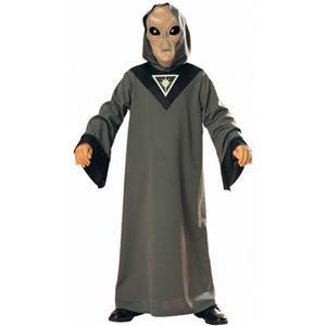 Rubie's 2nd Officer Leoj Child Alien Glow Mask and Robe Costume Size Medium 8-10