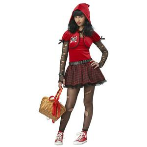 Girls Little Rad Red Riding Hood Tween Child Costume Large 10-12