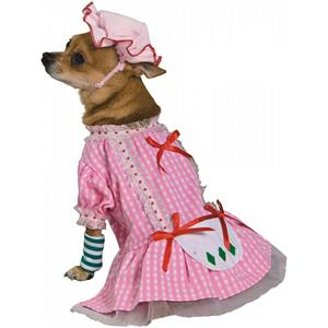 Country Pup Strawberry Shortcake Dog Cat Pet Costume Size XS