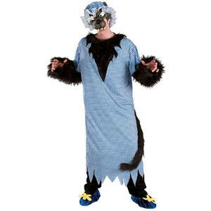 Men's Big Bad Wolf Deluxe Adult Costume