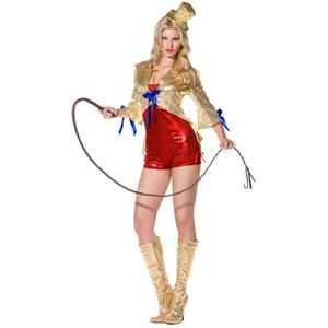 Women's Fever Circus Lady Adult Ringmaster Costume Size Small