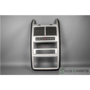 2009-2010 Dodge Journey Radio Climate Dash Trim Bezel with Vents Hazard Switch
