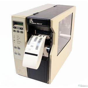 Zebra 90Xi-II 090-401-00294 Themal Barcode Label Tag Printer Rewinder 300DPI
