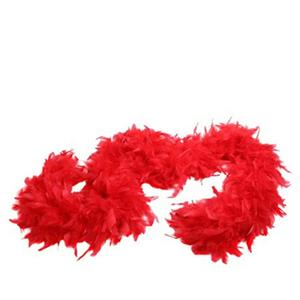 """72"""" Red Feather Boa Great Flapper Costume Accessory"""