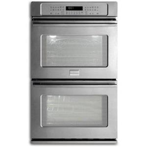 """Frigidaire Professional 27"""" Stainless Steel Double Electric Wall Oven FPET2785PF"""