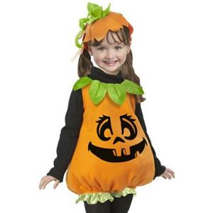 Pumpkin Girl Infant Costume Size 12-18 months