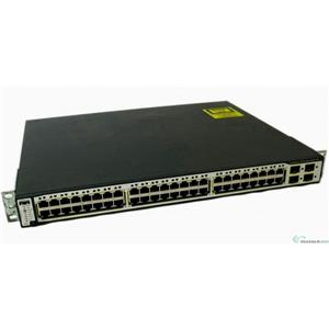 Cisco WS-C3750-48PS-E Catalyst 3750 48-ports 10/100 PoE & 4 SFP Uplinks Switch