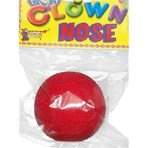"""Sponge Red Foam Clown Nose 2"""""""