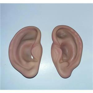 "4"" Super Jumbo Flesh Colored Big Ears Joke Gag Prank Costume Accessory"