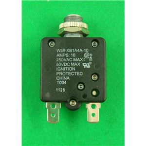 Atwood 33781 Hydro Flame RV Furnace Circuit Breaker Kit 10 Amp Pop-up
