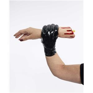 Classic Novelty The Living Arm Black Glove Holding Hand Gag Prank