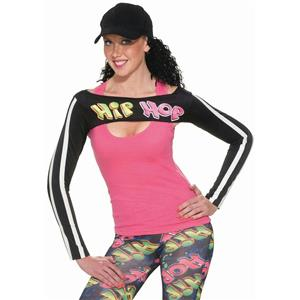 Forum Women's Hip Hop Old School Arm Warmer Shrug Costume Accessory