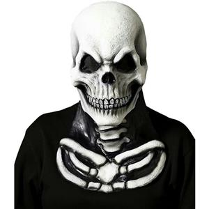 Cryptic Cadavers Skull Mask with Skeleton Chest Piece