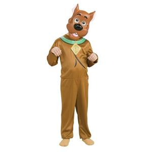 Scooby-Doo Child Mask and Jumpsuit Costume Set Size Small 4-6