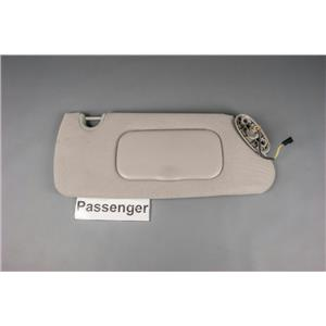 Passenger Side Sun Visor Lighted Mirror 04-08 Dodge Durango 07-09 Aspen