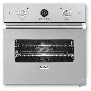 """Viking Professional Premiere 27"""" Dual Flow Single Electric Wall Oven VESO5272SS"""