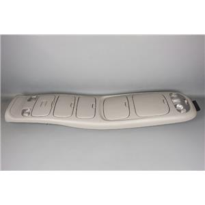 2007 Toyota Sequoia Overhead Console with Front & Rear Storage & Lights