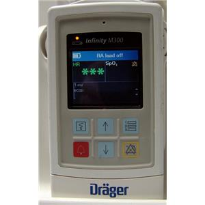 DRAGER M300 Telemetry W/ SpO2 Patient Worn Monitor