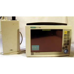 LOT OF 4 SIEMENS SC 7000 PATIENT MONITOR