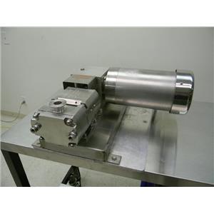 "Flowtech 1 1/2"" Stainless Steel Unibloc gear Lobe Pump Size 300/350 labtop"