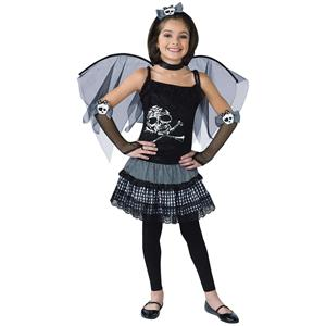 Funky Punk Fairy Child Costume Size Medium 8-10
