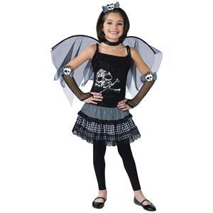 Funky Punk Fairy Child Costume Size Large 12-14