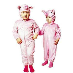Little Piggy Pig Infant Child Pajama Pjs Costume Size 1-2