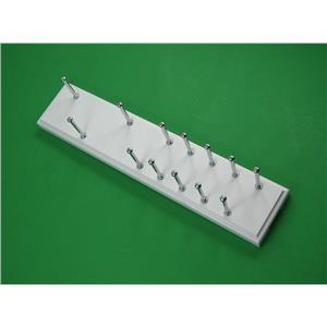 Martha Stewart Living XW 13-Hook Belt/Tie Rack Recessed Slider Flush Mount