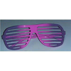 Purple to Pink Ombre Two Tone Aviator Blinds Shutter Shades Glasses