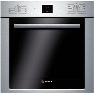 "Bosch 500 Serie 24"" 2.8 DualClean Convection Single Electric Wall Oven HBE5451UC"