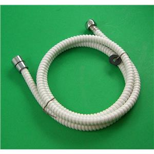 """Camco 43717 RV Marine 60"""" Flexible Replacement Shower Hose White"""