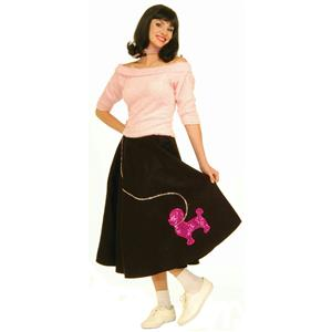 Forum Women's 1950's Pink Adult Sock Hop Costume Shirt Top