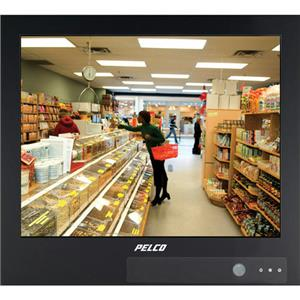 "Pelco PMP20B-NOCAM 20"" Black Public View Security Monitor w/o Camera"