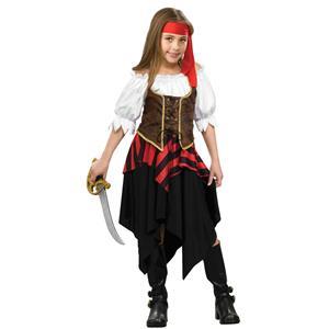 Forum Novelties Buccaneer Sweetie Girls Pirate Child Costume Size Small 4-6