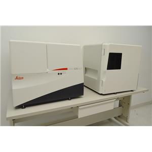 Leica SCN400F Brightfield Fluorescence Microscope Slide Scanner SL801 Autoloader
