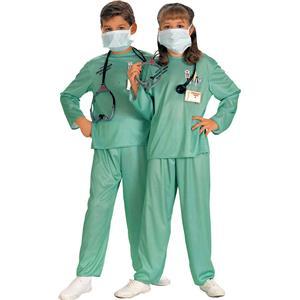 Rubie's E.R. Doctor Child Costume Size Medium 8-10