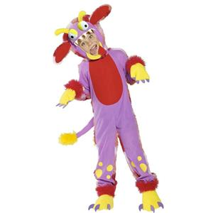 Smiffy's Wacky Grizzle Child Monster Costume Size Small 4-6