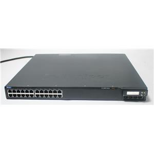 Juniper EX4200-24T EX 4200, 24-port Gigabit Switch (8-ports PoE) w/ 320W AC