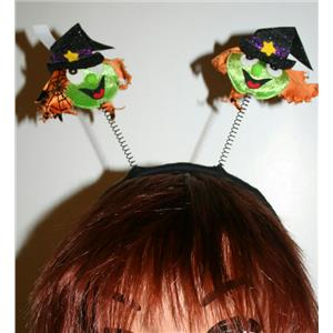 Witch Head Boppers Headband