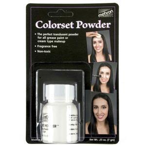 Mehron Colorset Translucent Makeup Setting Powder 0.25 oz