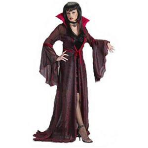 Fun World Women's Shimmering Rose Vampiress Costume Size M/L 8-14