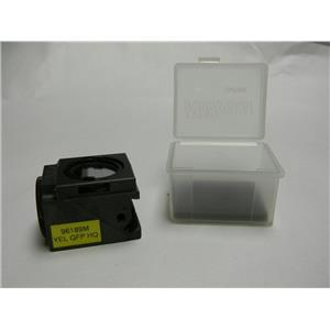 Nikon Filter Cube C45645 YEL GFP HQ Filter with case