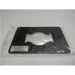 Nikon C-HSG 3 x1 Slide & 54mm Petri Dish Holder MFC35013