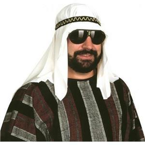 Adult Mens Sheik Rag Hat Headpiece Costume Accessory
