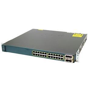 Cisco WS-C3560E-24TD-E Catalyst 3560E 24-Port 10/100/1000 2 10 Gig Uplink Switch