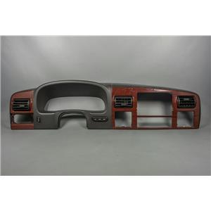 05-07 F250 F350 Surround Dash Trim Bezel w/ Vents Pedal Adjust & Info Buttons